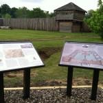 Signs at Fort Randolph