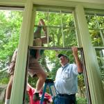 A major window restoration