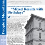 "Spring 2013: ""Mixed Results with Birthday"""