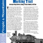 Spring 2015: Interpreting history along a Clay County rail line