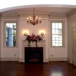 The old dining room restored