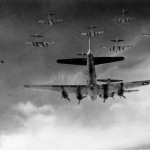 B-17 Flying Fortresses over Germany