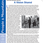 Winter 2019 People & Mountains newsletter